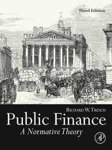 Ebook in inglese Public Finance Tresch, Richard W.