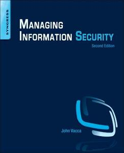 Managing Information Security - cover