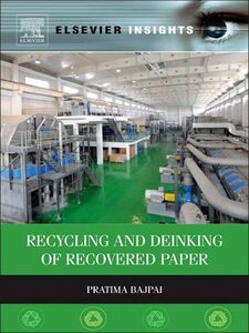 Ebook in inglese Recycling and Deinking of Recovered Paper Bajpai, Pratima