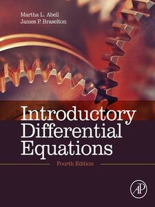 Foto Cover di Introductory Differential Equations, Ebook inglese di Martha L. Abell,James P. Braselton, edito da Elsevier Science