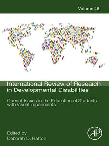 Foto Cover di Current Issues in the Education of Students with Visual Impairments, Ebook inglese di  edito da Elsevier Science