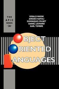 Object Oriented Languages - Gerard Meurant,Gerald Masini,Amedeo Napoli - cover