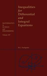 Inequalities for Differential and Integral Equations - cover