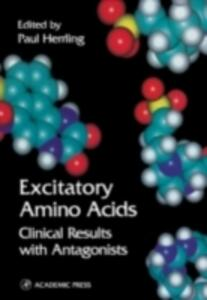 Excitatory Amino Acids: Clinical Results with Antagonists - cover