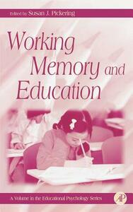 Working Memory and Education - cover