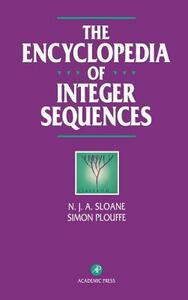 The Encyclopedia of Integer Sequences - N. J. A. Sloane,Simon Plouffe - cover