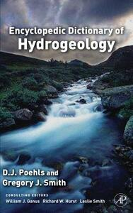 Encyclopedic Dictionary of Hydrogeology - cover