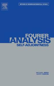 II: Fourier Analysis, Self-Adjointness - Michael Reed,Barry Simon - cover