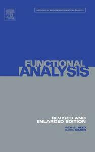 I: Functional Analysis - Michael Reed,Barry Simon - cover