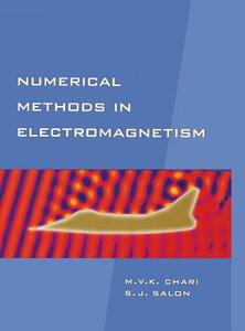 Numerical Methods in Electromagnetism - Sheppard J. Salon,M. V. K. Chari - cover