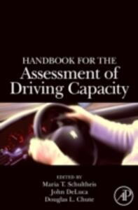 Handbook for the Assessment of Driving Capacity - cover