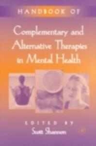 Handbook of Complementary and Alternative Therapies in Mental Health - cover