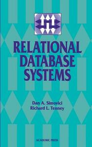 Relational Database Systems - Dan A. Simovici,Richard L. Tenney - cover