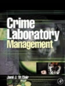Crime Laboratory Management - Jami St.Clair - cover