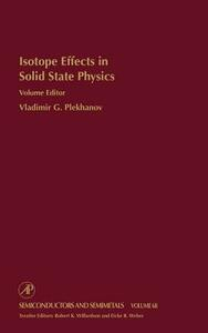 Isotope Effects in Solid State Physics - cover