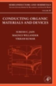 Conducting Organic Materials and Devices - Suresh C. Jain,M. Willander,V. Kumar - cover