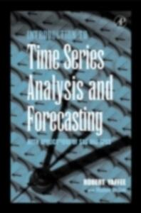 An Introduction to Time Series Analysis and Forecasting: With Applications of SAS (R) and SPSS (R) - Robert A. Yaffee,Monnie McGee - cover