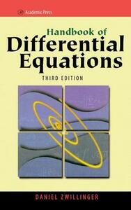 Handbook of Differential Equations (CD-ROM Version 1 only) - Daniel Zwillinger - cover