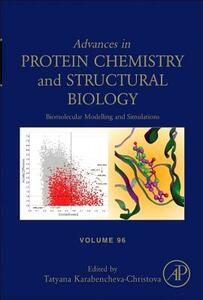 Biomolecular Modelling and Simulations - cover