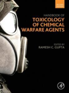 Handbook of Toxicology of Chemical Warfare Agents - Ramesh Gupta - cover