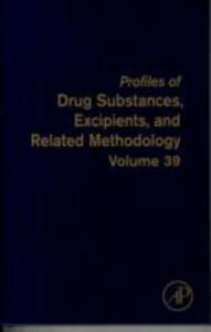 Profiles of Drug Substances, Excipients and Related Methodology - cover