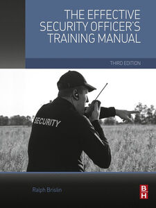 Ebook in inglese The Effective Security Officer's Training Manual Brislin, Ralph