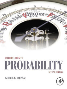 Foto Cover di Introduction to Probability, Ebook inglese di George G. Roussas, edito da Elsevier Science