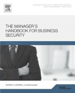 Foto Cover di Manager's Handbook for Business Security, Ebook inglese di  edito da Elsevier Science