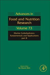 Marine Carbohydrates: Fundamentals and Applications, Part B - cover