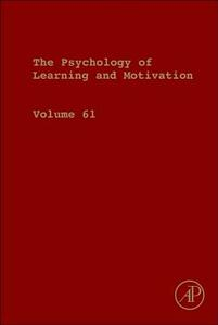 Psychology of Learning and Motivation - cover
