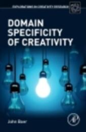 Domain Specificity of Creativity