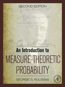 Ebook in inglese An Introduction to Measure-Theoretic Probability Roussas, George G.