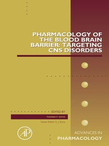 Ebook in inglese Pharmacology of the Blood Brain Barrier -, -