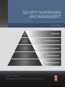 Ebook in inglese Security Supervision and Management IFPO
