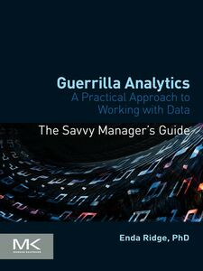Foto Cover di Guerrilla Analytics, Ebook inglese di Enda Ridge, edito da Elsevier Science