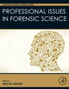 Professional Issues in Forensic Science - cover