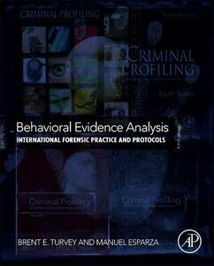 Behavioral Evidence Analysis: International Forensic Practice and Protocols - cover