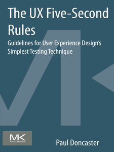 Ebook in inglese The UX Five-Second Rules Doncaster, Paul