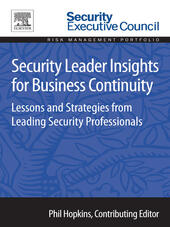 Security Leader Insights for Business Continuity