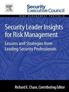 Ebook in inglese Security Leader Insights for Risk Management -, -