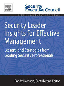 Ebook in inglese Security Leader Insights for Effective Management