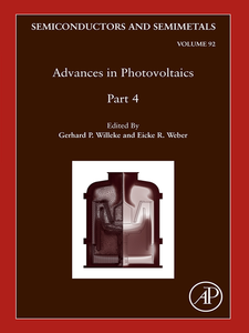 Ebook in inglese Advances in Photovoltaics, Part 4 -, -