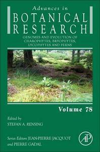 Genomes and Evolution of Charophytes, Bryophytes, Lycophytes and Ferns - cover