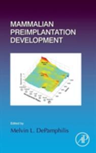 Mammalian Preimplantation Development - cover