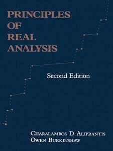 Ebook in inglese Principles of Real Analysis Aliprantis, Charalambos D. , Burkinshaw, Owen