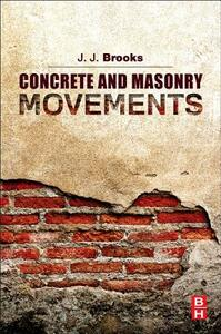 Concrete and Masonry Movements - Jeffrey Brooks - cover