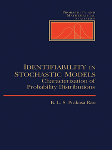 Ebook in inglese Identifiability In Stochastic Models Unknown, Author