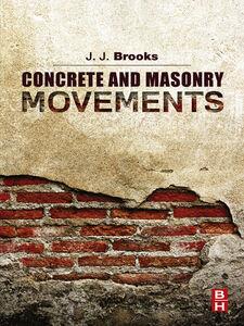 Ebook in inglese Concrete and Masonry Movements Brooks, Jeffrey