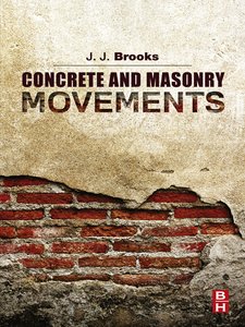 Ebook in inglese Concrete and Masonry Movements Brooks, Jeffrey