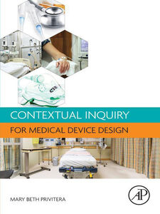 Ebook in inglese Contextual Inquiry for Medical Device Design